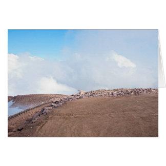 Atop Summit of Pikes Peak Card