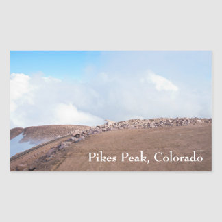 Atop Summit of Pikes Peak Sticker