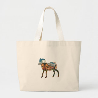 ATOP THE VALLEY LARGE TOTE BAG