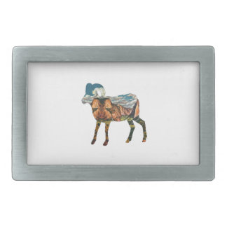 ATOP THE VALLEY RECTANGULAR BELT BUCKLES
