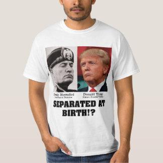 Atout Mussolini séparé à l'anti atout de naissance Tshirt