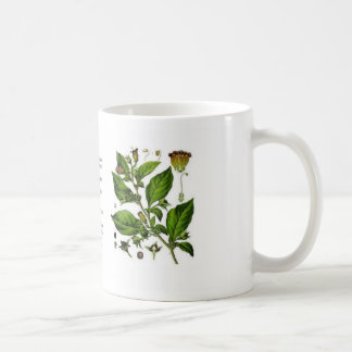Atropa belladonna coffee mug