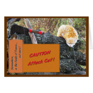 Attack Cat Card