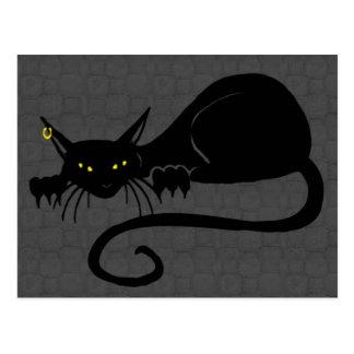 Attack Cat Solo Postcard
