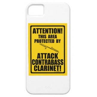 Attack Contrabass Clarinet Case For The iPhone 5