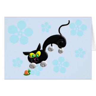 Attack Mode Cat Card