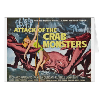 Attack of the Crab Monster Card