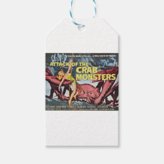Attack of the Crab Monster Gift Tags