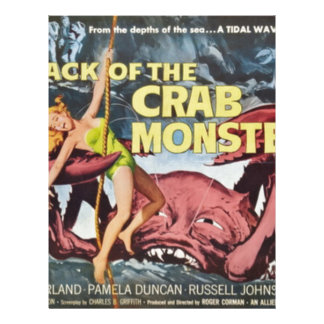 Attack of the Crab Monster Letterhead