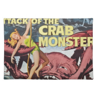 Attack of the Crab Monster Placemat