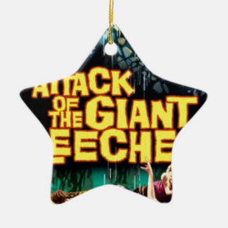 Attack of the Giant Leeches Ceramic Star Ornament