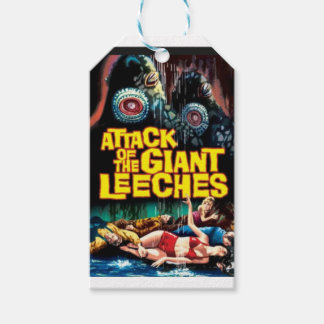 Attack of the Giant Leeches Gift Tags