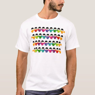 Attack of the Rainbow Geisha Dolls T-Shirt