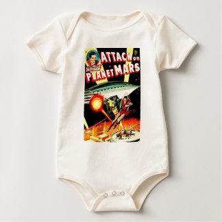 Attack on Planet Mars Baby Bodysuit