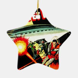 Attack on Planet Mars Ceramic Ornament