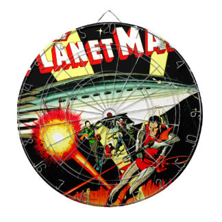 Attack on Planet Mars Dartboard