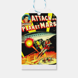 Attack on Planet Mars Gift Tags