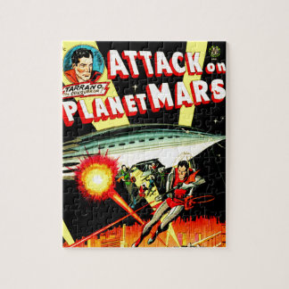 Attack on Planet Mars Jigsaw Puzzle