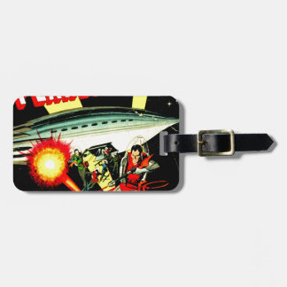 Attack on Planet Mars Luggage Tag