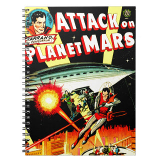 Attack on Planet Mars Notebook