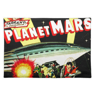 Attack on Planet Mars Placemat