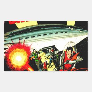 Attack on Planet Mars Sticker
