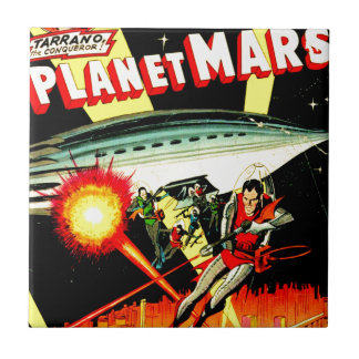 Attack on Planet Mars Tile