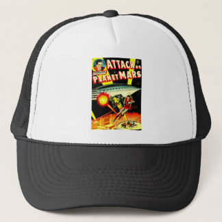 Attack on Planet Mars Trucker Hat