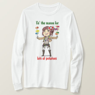 Attack On Titan Holiday Long Sleeve T-Shirt