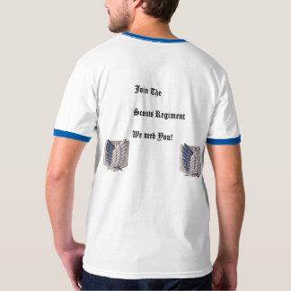 Attack On Titan-  Scouts Regiment T-shirt