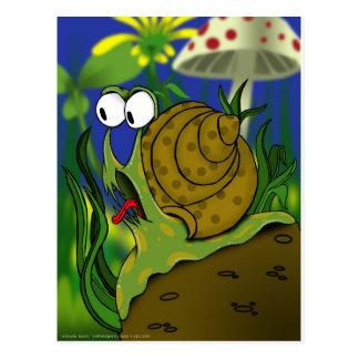 Attack Snail.jpg Postcard
