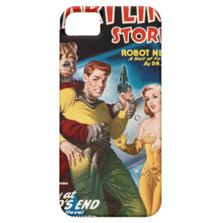 Attacked by a Space Bear iPhone 5 Covers