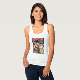 Attacked by a Space Bear Tank Top