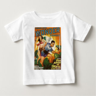 Attacked by Lizards on Mars Baby T-Shirt