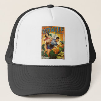 Attacked by Lizards on Mars Trucker Hat