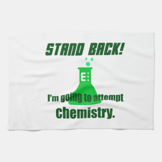 Attempting Chemistry Kitchen Towel