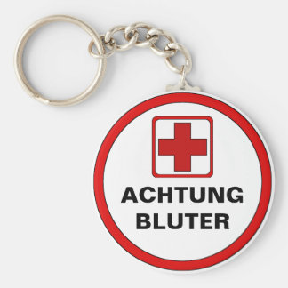 Attention - BLUTER Keychain
