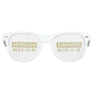 ATTENTION Bride to be - customizable Kids Sunglasses