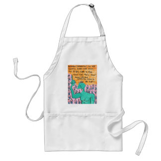 Attention Earthlings Aprons