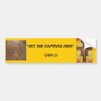 Attention Freedom fighters! Bumper Sticker