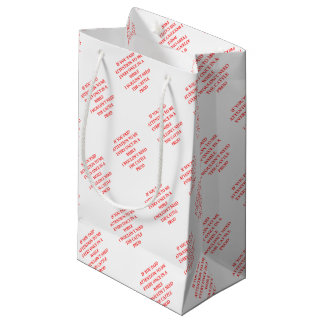 ATTENTION SMALL GIFT BAG