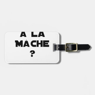 ATTENTION WITH CORN SALAD? - Word games Luggage Tag