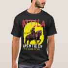 Attila 'Huns in the Sun' Tour (Men's Dark Front) T-Shirt