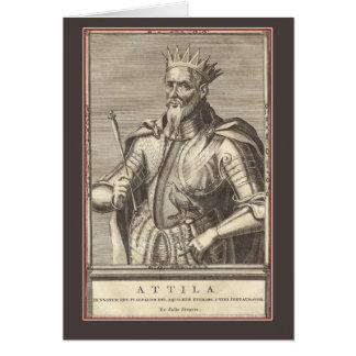 Attila, King of the Huns, Scourge of God Card