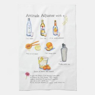 attitude adjuster cocktail bar cloth