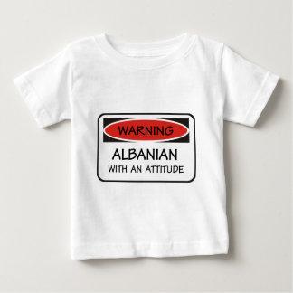 Attitude Albanian Baby T-Shirt