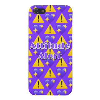 Attitude Alert iPhone SE/5/5s Matte Case