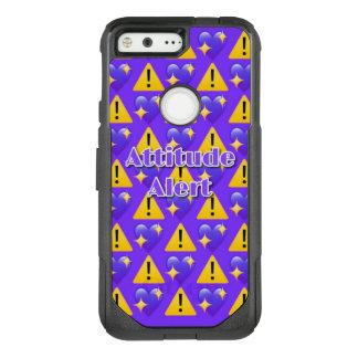 Attitude Alert (Purple) Google Pixel Otterbox Case