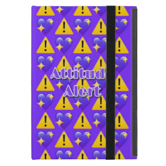 Attitude Alert (Purple) iPad Mini Case