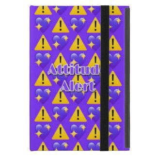 Attitude Alert (Purple) iPad Mini Case